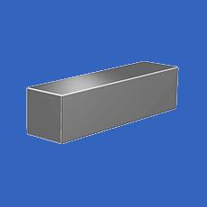 Квадрат нержавеющий 40x40 мм AISI 316L / 1.4404