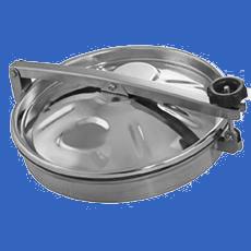 Круглый люк DN500 AISI 316L / 1.4404 с прокладкой EPDM